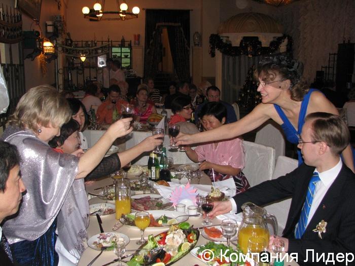 Встреча нового года рестораны клубы